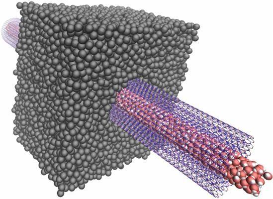 Prąd z osmozy: nanorurki z azotku boru 1000-krotnie zwiększają prąd uzyskiwany z różnicy stężenia soli