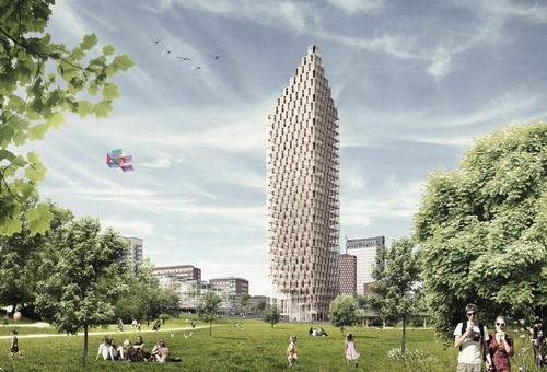 W Sztokholmie może powstać największy drewniany drapacz chmur