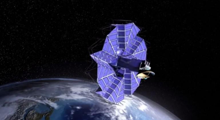 Kosmiczne tablice słoneczne zainspirowane origami?