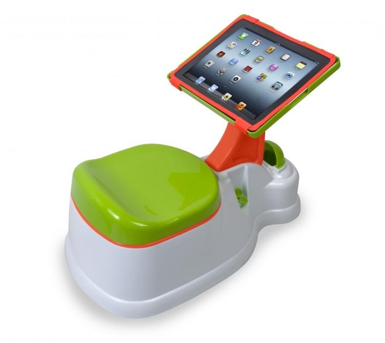 Technologia dla najmłodszym: nocnik plus iPad równa się iPotty