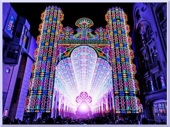 Belgijski Festiwal Światła w Gandawie