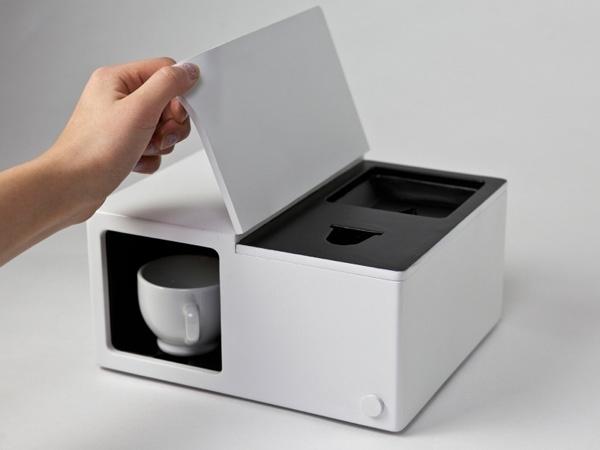 Ekologiczny i minimalistyczny ekspres do kawy