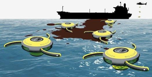 Maxwideo: Roboty czyszczą skażenia i bronią żyjących w oceanie zwierząt