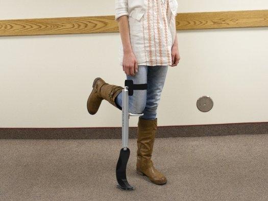 FlexLeg: pseudoproteza dla złamanej nogi