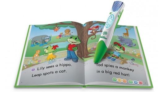 LeapReader pomaga dzieciom w czytaniu i pisaniu