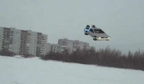 """Ty też możesz mieć samochód z filmu """"Powrót do przyszłości"""" - wideo"""