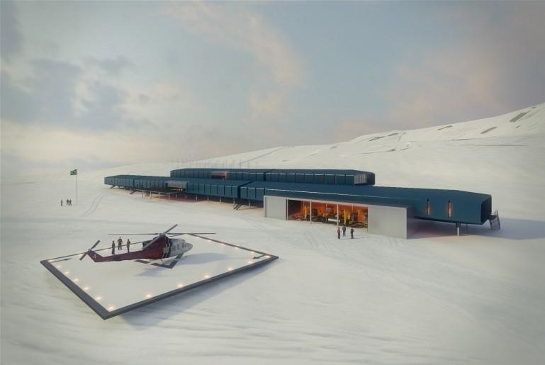 Tak będzie wyglądała brazylijska stacja antarktyczna - zobacz zwycięski projekt