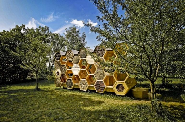 Hotel dla ludzi i pszczół, czyli niezwykły przykład ekoturystyki