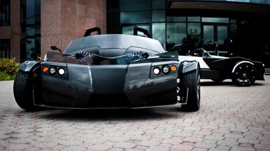 Elektryczny trzykołowy Torq Roadster - nowa wersja batmobila?