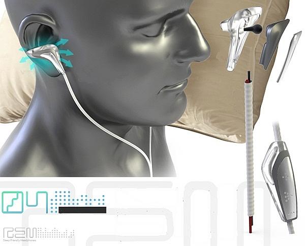 Słuchawki REM: słuchaj muzyki podczas snu