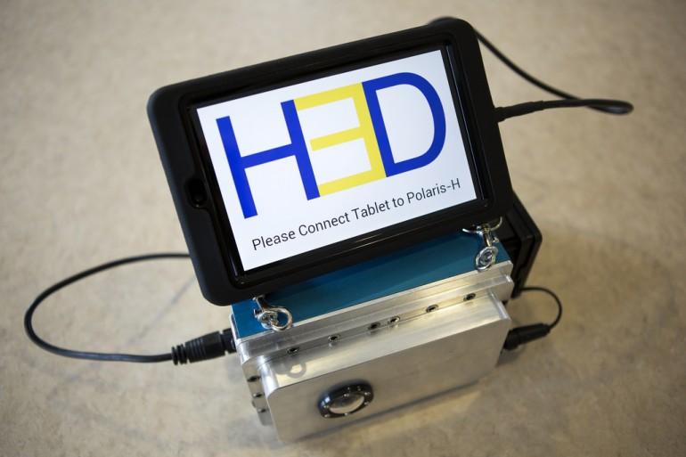 Polaris-H – podręczny detektor promieniowania