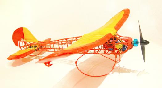 Samolot RC wydrukowany w 3D naprawdę lata!