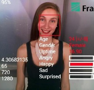 emotion reading google glass app