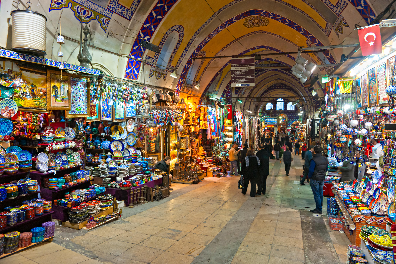 Kapali Carsi - Wielki Bazar w Stambule