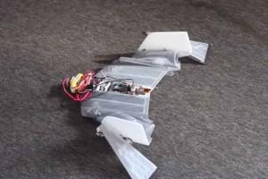 Fruwający cyber-nietoperz ratownik