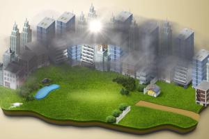 Anty-smogowe wieże przerobią zanieczyszczenia na…biżuterię