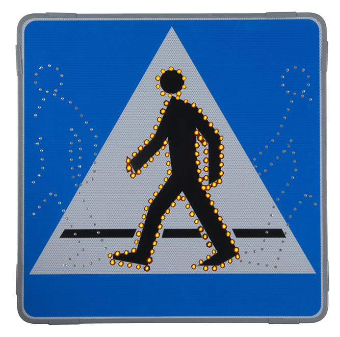 Jak działają aktywne znaki drogowe?