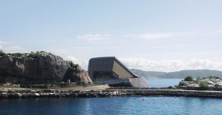 Powstaje pierwsza podwodna restauracja w Europie