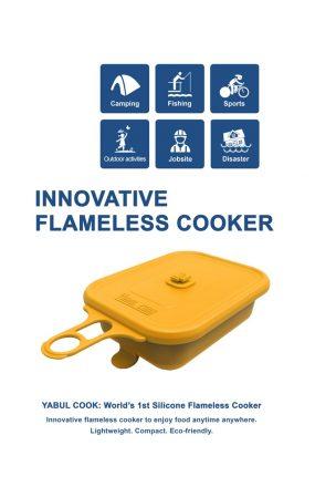 YABUL Cook, czyli turystyczne gotowanie bez ognia...