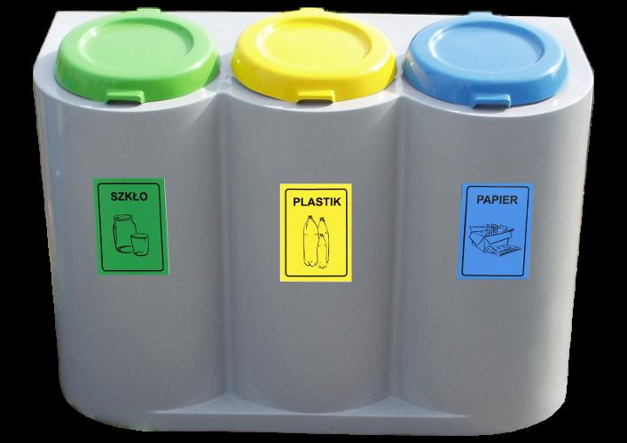 Kosze na śmieci jedno-, dwukomorowe czy też może stojak na worki na śmieci?