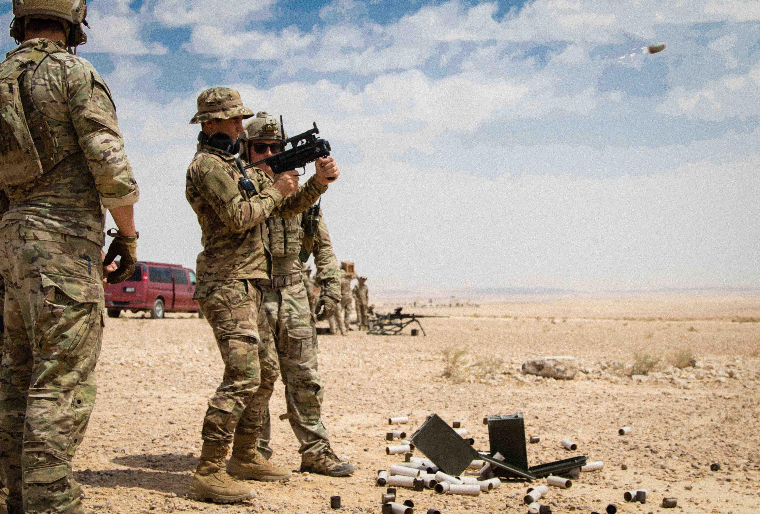 Dron z granatnika – nowy pomysł USA Army na szybki zwiad